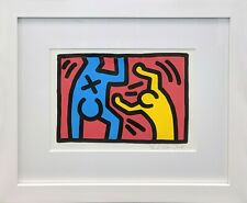 """KEITH HARING """"UNTITLED (D)"""" 1987 