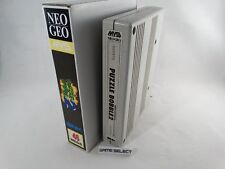 PUZZLE BOBBLE 2 - NEO GEO MVS NEOGEO ARCADE ORIGINALE + BOX MINI NEOMINIBOX
