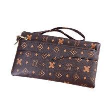 Women Clutch Leather Wallet Handbag Card Holder Zip Long Purse Phone Bag Case