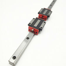 Linear Guideways Guide Rail Replace HIWIN HGR25R L=500mm +2pc Flange Rail Block