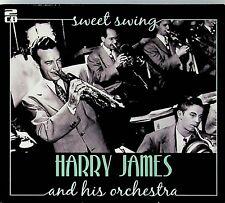 HARRY JAMES- Sweet Swing, The Best of 2-CD Jazz ft Rosemary Clooney/Kitty Kallen