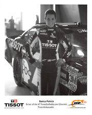 "2012  DANICA PATRICK #7 TISSOT ""JR MOTORSPORTS"" NATIONWIDE NASCAR POSTCARD  HTF!"