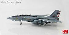 """HOBBYMASTER 1:72 HA5201 F-14A TOMCAT U.S. NAVY VF-211 """"FIGHTING CHECKMATES"""" MIB"""