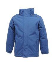Regatta Childrens Jacket Waterproof Windproof Hood 98 - 176 Jacket Young Girl Royal Blue 140