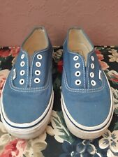 Womens Blue Vans Trainers / Sneakers Size 4.5 UK