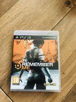 Jeu Remember Me Playstation 3 PS3 En Bon État Fr