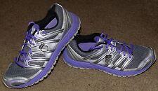 Womens K Swiss Tubes Run 130 Athletic Training Running Shoes sz6 Purple Silver