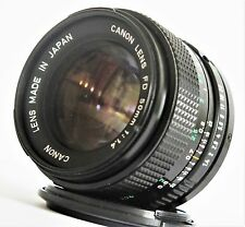 Canon New FD 50mm F/1.4 Lens for A-1 F-1 AE-1 F/Shipping Excellent Condition