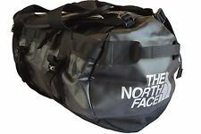 THE NORTH FACE BASE CAMP DUFFEL BAG / HOLDALL / RUCKSACK (MEDIUM) - BLACK - EXC