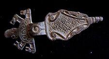 Nordic, Viking Broche De Bronce Con Animales 600-700 AD