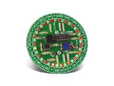Roulette Kit With 37 Leds Spinning Sound And Auto Power Off Velleman Mk119