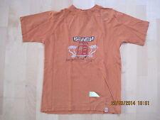TCM T-Shirt, orange, Gr. 134-140,