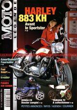 MOTO LEGENDE 107 HONDA CX 400 500 650 Turbo HARLEY DAVIDSON KR 750 883 FOURNALES