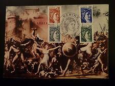 FRANCE PREMIER JOUR FDC YVERT 1962/65   SABINE  0,01+0,05+0,02+0,10F  PARIS 1978