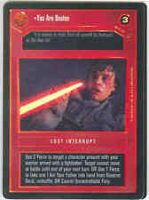 Star Wars CCG Tournament FOIL You Are Beaten