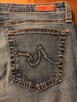 Adriano Goldschmied Women's Jeans The Club Bootcut Stretch Jeans Size 26 X 30