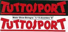 ADESIVO/STICKER * TUTTOSPORT / MOTOR SHOW BOLOGNA - 5/13 dicembre 1987 *