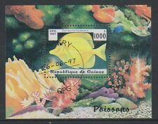 Guinea - 1997 Fishes sheet - F/U - SG MS1753