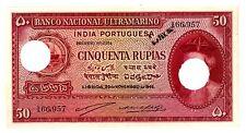 Portuguese India ... P- 38 ... 50 Rupias ... 1945 ... *AU-UNC*