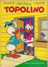 TOPOLINO N° 957 - 31 MARZO 1974