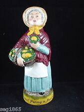 Franklin Porcelain Gritos De Londres Toby Jarra-Flores Penny un montón
