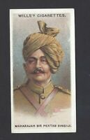 WILLS - ALLIED ARMY LEADERS - #30 MAHARAJAH SIR PERTAB SINGHJI