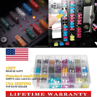 ATC ATO ATM 220pc Blade Fuse Assortment Auto Car Truck Motorcycle FUSES Kit USA