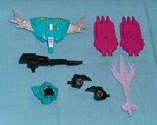 original G1 Transformers PIRANACON PARTS WEAPONS LOT #25 r+l fist foot sword +++