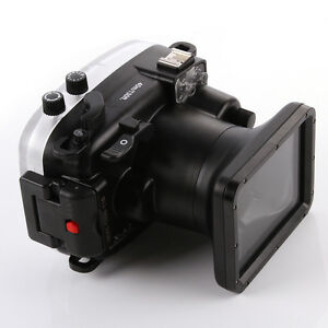 40m Waterproof Diving Underwater Housing Case For Fuji X-A2 Camera &16-50mm Lens