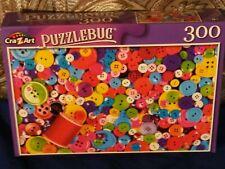 """COLORFUL BUTTONS"" *PuzzleBug*CraZart* 18.25"" X 11"" Puzzle (300 Pieces)*NEW!"