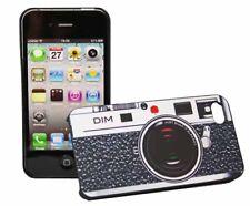 Retro Backcover Camera für Apple iPhone 4 4S in schwarz Rückschale Tasche Hülle