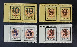 CKStamps: Austria Stamps Collection Local Mint NH OG