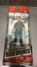 The Walking Dead Series 7 Woodbury Assault Rick Grimes Action Figure Toy NEW
