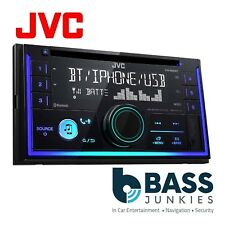 JVC Double Din CD MP3 Bluetooth Car Stereo Radio USB AUX iPhone Android Player
