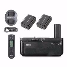 Meike MK-A6500 Pro Batteriegriff für Sony A6500 Fernbedienung +2*NP-FW50 Akkus