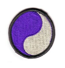 29th INFANTRY DIVISION (Fabrication Actuelle)