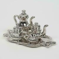 1:12 Keramik Teekanne + Vor Ort-motiv Mit Teebeutel Miniatur Puppenhaus HOT J1Y0