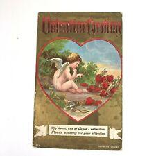 1908 Valentine Greeting Postcard Cupids Affection Gold Embossed P Sander Ny 234