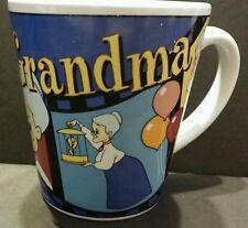 """Looney Tunes Tweety Bird and Grandma Filmstrip Coffee Mug Cup  4"""" Tall 1999 EUC"""