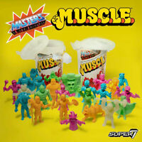 Masters of the Universe Muscles Wave 2 Super 7 Trash Can New Sealed!