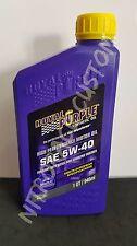 Royal Purple SAE Motor Oil Olio Motore - 5W-40 - 4 L