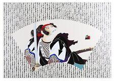 """Uncommon Valor"" by Hisashi Otsuka Limited Edition Silkscreen LE of 4500 w/ CoA"