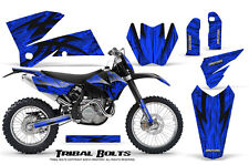 CREATORX GRAPHICS KIT FOR KTM 05-07 EXC/XC 05-06 SX TRIBAL BOLTS BLNP