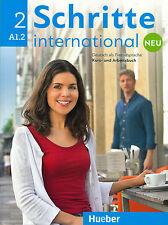 Hueber SCHRITTE INTERNATIONAL NEU 2 Kursbuch + Arbeitsbuch A1.2 mit CD @NEW@