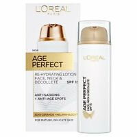 L'Oreal Paris Age Perfect Re-Hydrating Lotion Face, Neck & Decollete SPF15 50ml
