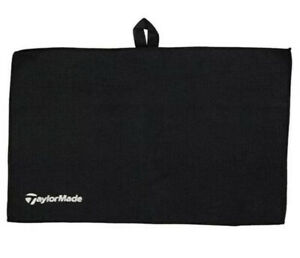 Taylormade Microfibre Golf Towel 2020 NEW IN BLACK (Not Scotty Cameron/Titleist)