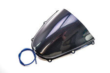 05-06 Honda CBR600RR Puig Racing Windscreen, with Carbon Fiber Look  2058C