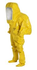 Dupont Tychem BR Large Encapsulated Hazmat Chemical Suit Yellow RM-1631M