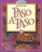 Paso a Paso Level 1 (Spanish Edition) by Myriam Met, Richard S. Sayers, Carol E