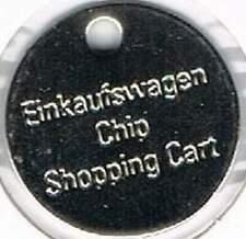 Winkelwagenmuntjes : Einkaufswagen chip shopping card - 0605